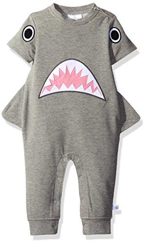 Rosie Pope Baby Boys' Hammer Head Romper, Shark, - Romper Bebe