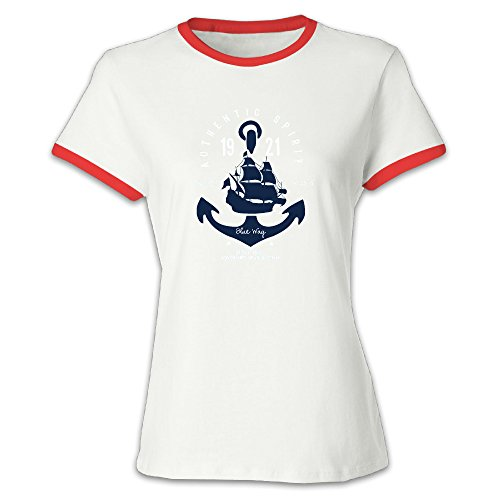 Authentic Spirit Women's Creative Design T-Shirt