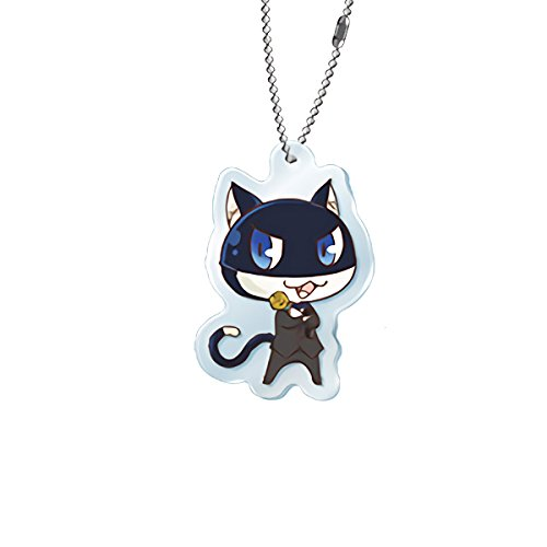 Persona 5 Morgana Collaboration Collab Cafe Exclusive Character Acrylic Key Chain Mascot Charm Type A Collection Anime Art