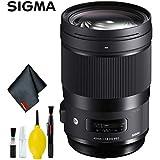 Sigma 40mm f/1.4 DG HSM Art Lens for Canon EF (International Model) Standard Kit