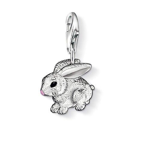 THOMAS SABO Pendant Rabbit Clasp Style (Sterling Silver Rabbit Charm)