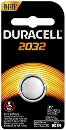 Duracell 3-Volt Lithium Battery for Electronic Organizers (DL2032B)