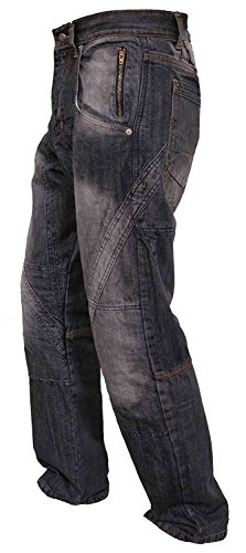 Newfacelook Mens Work Jeans Heavy duty multipurpose worker jeans casual working pants