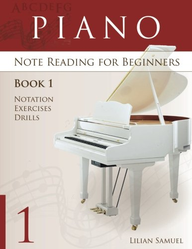 Note Reading Book (Piano Note Reading book for beginners (Book 1))