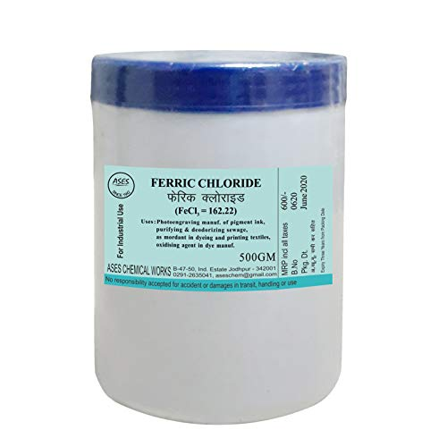Ferric Chloride for PCB etching 500gm Price & Reviews