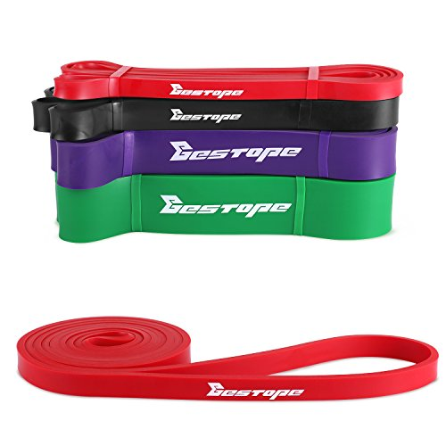 BESTOPE Resistance Bands Pull Up Assist Bands for Powerlifting and Yoga...