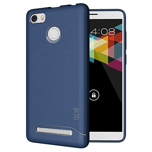Nuu Mobile G1 Case, TUDIA [Arch] Shock Absorption Drop-Proof Lightweight Scratch Resistant TPU Bumper Protection Cover for Nuu Mobile G1 (Navy Blue)