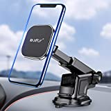 Magnetic Phone Car Mount RAXFLY 8 N52 Dashboard Windshield Magnet Car Holder 3 Metal Plate Magnetic Car Phone Mount Compatible with Samsung Galaxy Note 10 9 S10 Plus iPhone 11 XR Pro Max Smartphone
