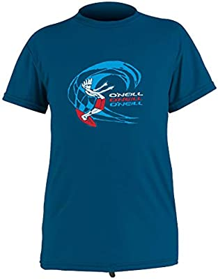 ONEILL – Camiseta UV para niño – Manga Corta – OZone Sun – Azul, Niños, 5325B-326|3, Azul, 104-116cm: Amazon.es: Deportes y aire libre
