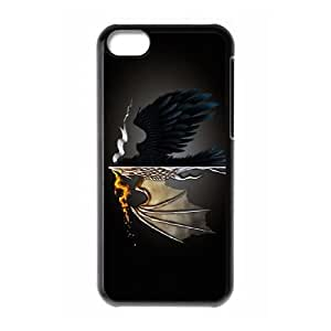 Unique Design Cases Cbnvx iPhone 5C Cell Phone Case Game of Thrones Printed Cover Protector