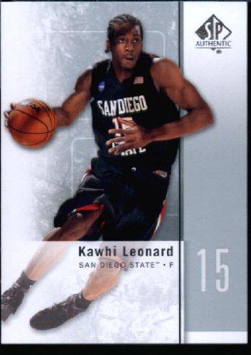 2011 Upper Deck SP Authentic Basketball Card (2011-12) IN SCREWDOWN CASE #27 Kawhi Leonard - 12 Deck Upper