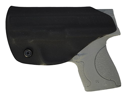 (Black Jacket Holster IWB KYDEX Holster: fits S&W M&P Shield 9/40 (Black - Right Hand))