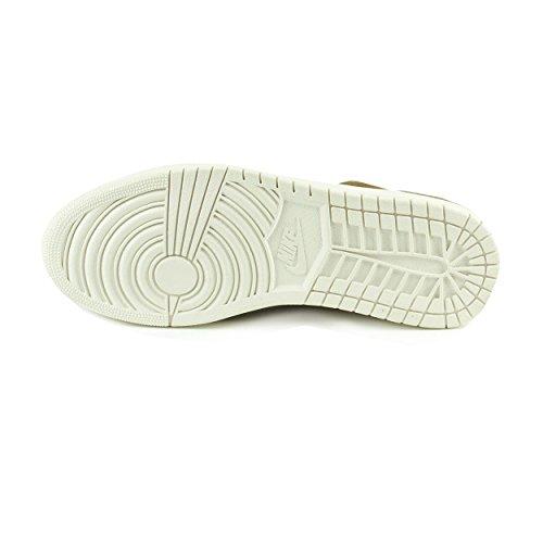 Nike Mens Air Jordan 1 Retro Basso Trooper / Vela In Pelle No Swoosh