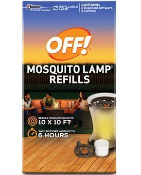Mosquito Lamp Refill - OFF! Mosquito Lamp Refills