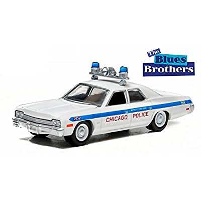 CHICAGO POLICE 1975 DODGE MONACO from the classic film THE BLUES BROTHERS * Hollywood Greatest Hits * 2015 Greenlight Collectibles 1:64 Scale Limited Edition Die-Cast Vehicle: Toys & Games