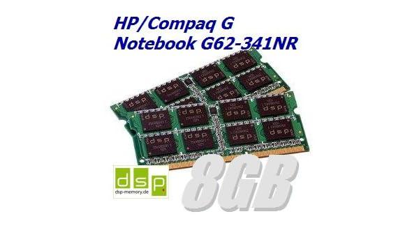 Memoria RAM de 8 GB para HP/Compaq G Ordenador Portatil G62 - 341 ...