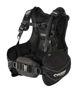 Travel Buoyancy Compensator - Cressi Start, Black/Blue, L