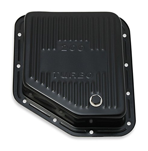 MR GASKET 9768BMRG Black Automatic Transmission Oil Pan Gm 200-4R
