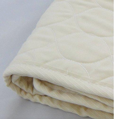 Organic Cotton Mattress Pad Size: Twin XL