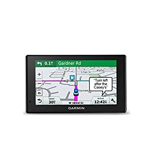 Garmin DriveSmart 50 NA LMT GPS Navigator System with Lifetime Maps and Traffic, Smart Notifications, Voice Activation, and Driver Alerts