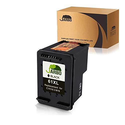JARBO 61 XL Remanufactured for HP 61XL 61 Black Ink Cartridge, HP 61 Ink, 1 Black, Use with HP Envy 4500 5535 Deskjet 1000 1010 1055 1512 2510 2512 2544 2549 3000 3510 3050A Officejet 4635 ()