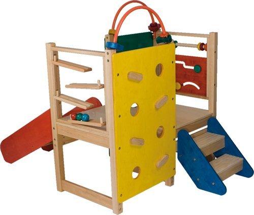 Klettergerüst - Kletterspaß-Viereck für bis zu 6 Kinder ...