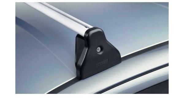 Original Opel Astra H Base Carrier Cruz Barras de techo con cerradura: Amazon.es: Coche y moto