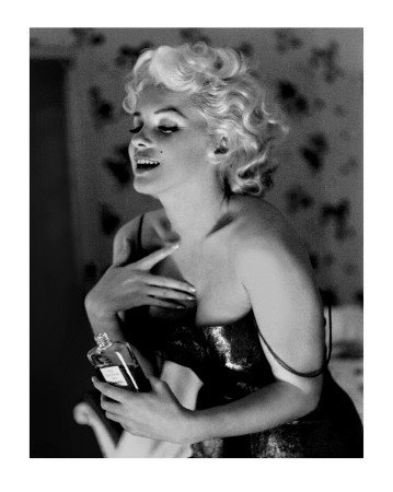 Marilyn Monroe, Chanel No.5 Art Poster Print by Ed Feingersh, by Ed Feingersh