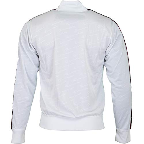 Champion Uomo Bianco Top All Blu Fit Track Comfort Over FxxrwRdB