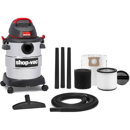 shop vac stainless 8 gallon - 3