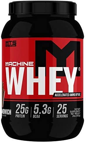 MTS Machine Whey Protein 2lbs, Ice Cream Sandwich