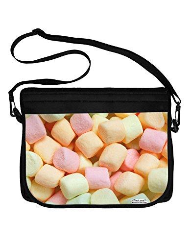 TooLoud Marshmallows All Over Neoprene Laptop Shoulder Bag All Over Print ()