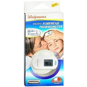 Walgreens Digital Forehead Thermometer Mothers Touch 6 Second Readout