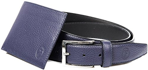Blue Blu Gift Gift Belt Men's Trussardi Trussardi Men's Blue Egadi Belt Box qwPt4S