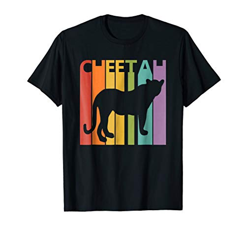 Cheetah T-shirt, Wild Animal Cheetah Tshirt Christmas