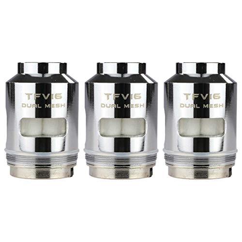 SMOK TFV16 Mesh Coils (0,12 Ohm), Riccardo DL Verdampferköpfe für e-Zigarette, 3 Stück
