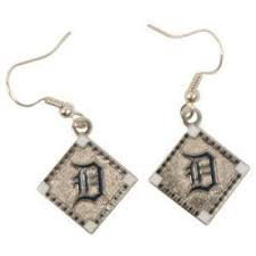 aminco Detroit Tigers Diamond Dangle Earring ()