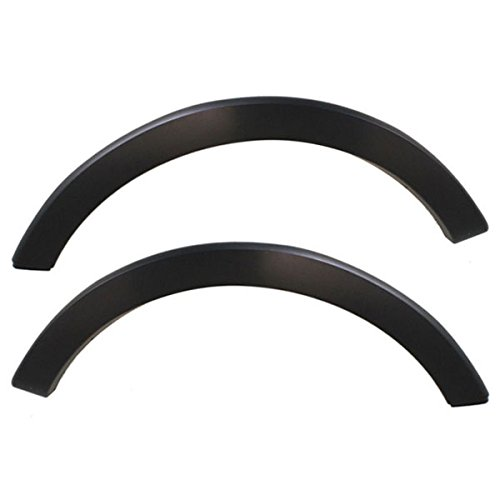 Expedition Trim Fender - Koolzap For 03-06 Expedition Rear Fender Molding Moulding Trim Arch Left Right Side SET PAIR