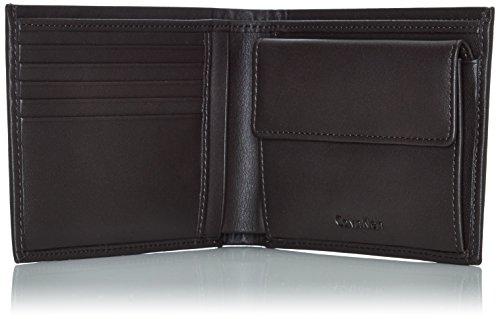 Calvin Klein Jeans Herren ANDR3W 5CC+Coin Geldbörsen, Braun (Turkish Coffee 201), 10x13x3 cm
