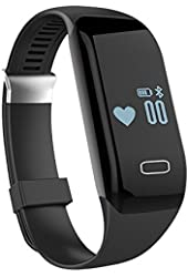Heart Rate Monitor Wrist Band, Morefit H3 Waterproof Smart Watch Strapless HR Fitness Activity Tracker