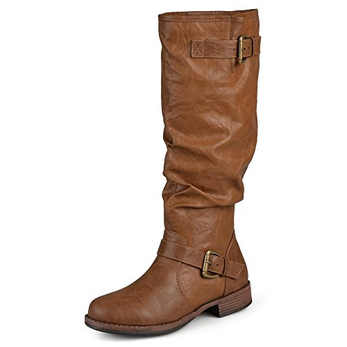 Cheap Leather Riding Boots - 4