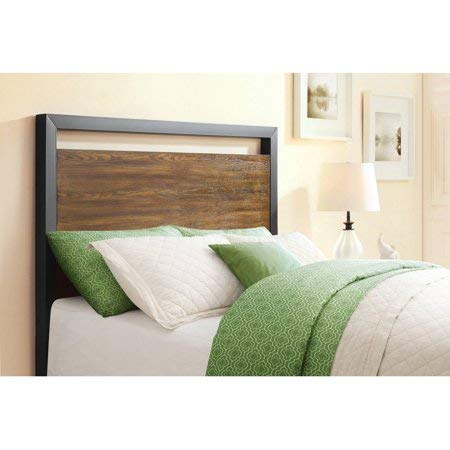 Better Homes & Gardens Mercer Full/Queen Headboard, Vintage Oak Finish from Whalen Furniture