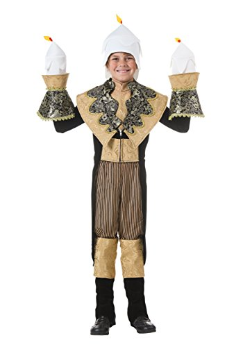 Fun Costumes Antique Exclusive Child Candlestick Costume ()