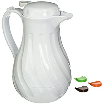 Amazon Com Acechef 45 Oz Glass Lined Thermal Carafe