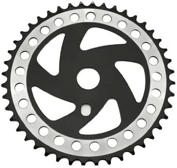 """Bicycle Twisted Chainring Sprocket 1//8/"""" x 44T Chrome Cruiser Lowrider Bikes"""