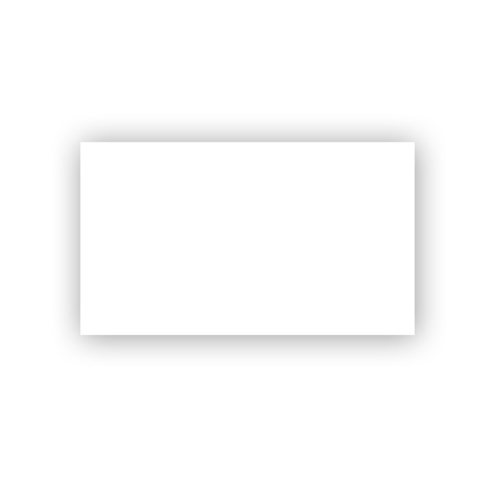 JAM Paper Foldover Table PlaceCards - 2 3/16'' x 3 3/8'' (Fits in 3Drug Envelopes) - 80lb Strathmore Cover Bright White Wove - 25/pack