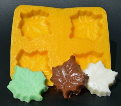 Yellow Rubber Mint Mold - 8