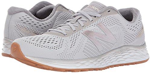 41EqWROkClL New Balance Women's Fresh Foam Arishi v1 Running Shoes, Light Grey, 8.5 B US