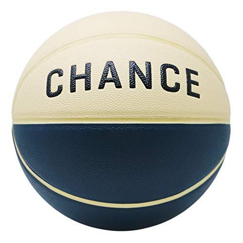 (Chance Premium Composite Leather Indoor/Outdoor Basketball (Size 5 Kids, 6 Womens, 7 Official) - Best for Indoor, Hardwood, Outdoor, Practice, Middle-School, High-School (Size 6 (28.5), Sebastian))
