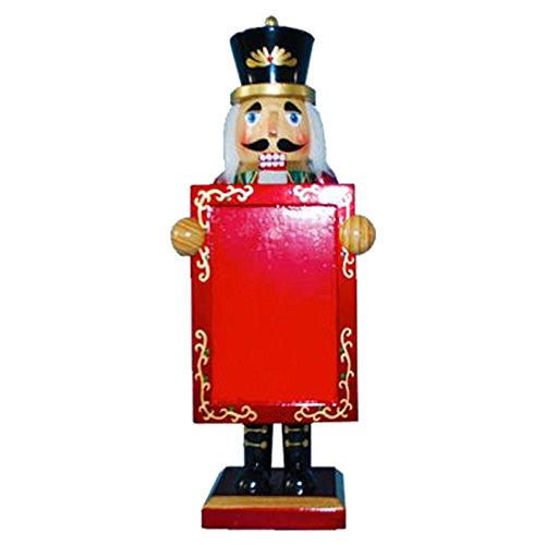 Nutcracker Ballet Gifts - Christmas Nutcracker Figure Soldier With Picture Frame for Holiday Photo Wood Exclusive Design